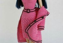 Вязание. Для кукол.