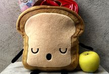 Mr. Little Bread Slice LUNCHBOX / Keep Your Lunch Delicious!!