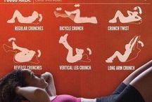 test / edzési mozdulatok