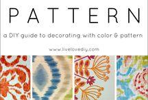 Pattern and Design / by Christina at I Gotta Create!