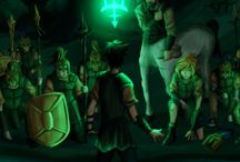 Percy jackson and other Rick's stuff