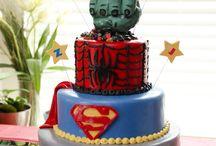 SUPER HERO Bday pty