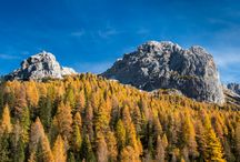 Autumn in Dolomites / Podzim v Dolomitech / Colorful photos od Dolomites in Italy.