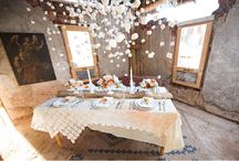 Wedding table settings / by Siri Sørensen