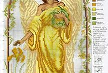 cross stitch - fairies and angels