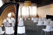 Music for Hotel & Indoor Wedding Ceremonies / Wedding harpist providing music for indoor wedding ceremonies in hotels, banquet centers, and other locations.  http://www.theclassicharpist.com / by The Classic Harpist
