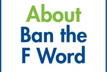 Ban the F Word : Fat-shaming / Since we first opened our doors 10 years ago, the Obesity Action Coalition has been putting a stop to weight bias and fat-shaming.  Now, we're proudly launching the Ban the F Word movement to keep-up the great progress we've made. Join us in support of our new movement to Ban the F Word, a movement created to end fat-shaming and weight bias. Visit bit.ly/BTFWpetition to learn more and sign the petition.