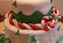 christmas cake / christmas cake