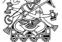 Maharashtra embroidery