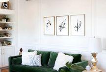 Contemporary + Classic Living Room