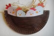 pääsiäisaskartelu/Påskpyssel/Easter craft