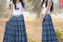Jeans  com elegância e modéstia