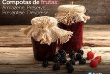 Compotas&doces&geleias / by Elsa Pedrosa