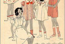 Barnkläder från förr