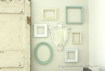 Decorations ♡ Frames / Home decor with frames / by Cinzia Corbetta