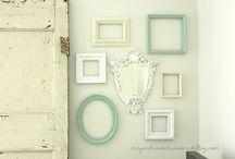 Decorations ♡ Frames / Home decor with frames / by Cinzia Corbetta