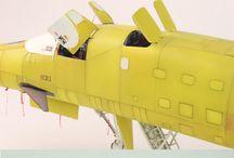 B-1 塗装前 / 下地塗装