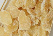 gengibre cristalizada