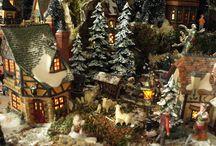 Christmas Village of Mark de Vries / Un autre village exceptionnel...