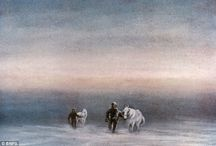 Edward Adrian Wilson (Scott Expedition Artist) / Paintings Edward Adrian Wilson created on the ill-fated Scott Expedition to the South Pole, 1910-1912.