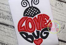 valentines & love applique