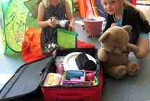 Kleuters vakantie camping