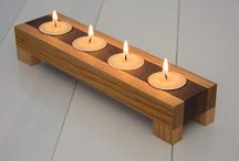 Wooden Candle Holder Inspiration / Ideas to inspire young makers!