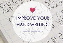 Calligraphy/Handlettering
