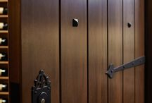 Wine Cellar Doors / A collection of custom wine cellar doors by Revel as well as other cool door ideas for inspiration.