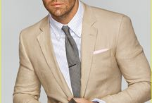 Summer Suits & Ties / Style inspiration for summer menswear in suit and tie. Tips on wearing suits in linen, cotton, and summer hues. / by Bows-N-Ties | Inspiration for Men's Ties, Bow Ties, & Neckties