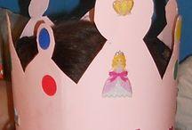 MCMH - cumpleaños, dulces, coronas / Manualidadesconmishijas Blog. Manualidades realizadas por niños sobre la temática cumpleaños
