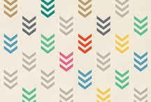 Simple geometric patterns for our pots