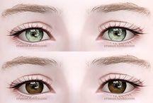 sims eyecontact