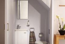 Salle d'eau escaliers