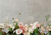 Rustic green and white barn wedding / Catherine & Joe's Lains Barn wedding