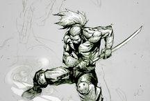 Pose Sketch action