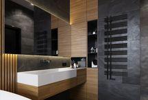 Moodbord łazienka