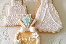Wedding Cookies / Some of our favorite cookies for wedding dessert bars, favors, bridal showers and wedding guest welcome baskets