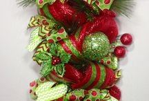 long christmas wreath