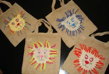 Textiles basteln mit Kindern