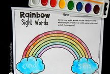 Kindy Sight words
