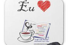 Love Café com Poesia - linha de produtos