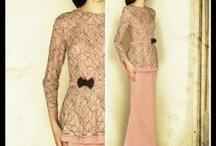Fashion - Kebaya Batik Dress
