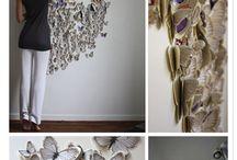 Mariposas de papel