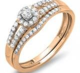 Alluring Rose Gold Wedding Rings