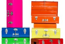 Have bag, will travel! / Fabulous suitcases! And I love bags of all kinds!