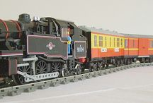 Lego trenes