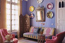 Rooms (antique, boheme, old etc)