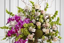 Anytime flower arrangements - bright/ mix colors / by Ashlee Hood