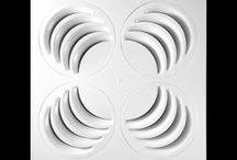 Air Distribution Products / Our air distribution products: ceiling air diffusers and others.